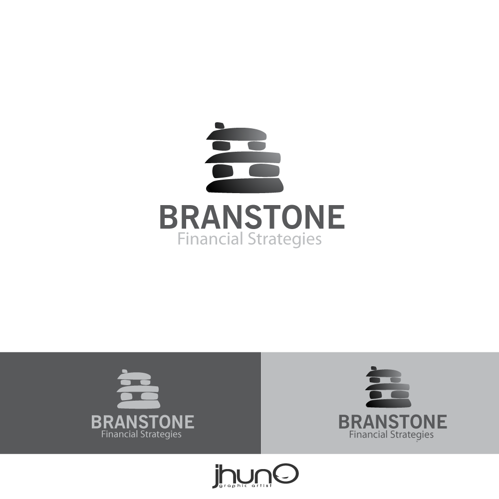Logo Design by zesthar - Entry No. 17 in the Logo Design Contest Inspiring Logo Design for Branstone Financial Strategies.