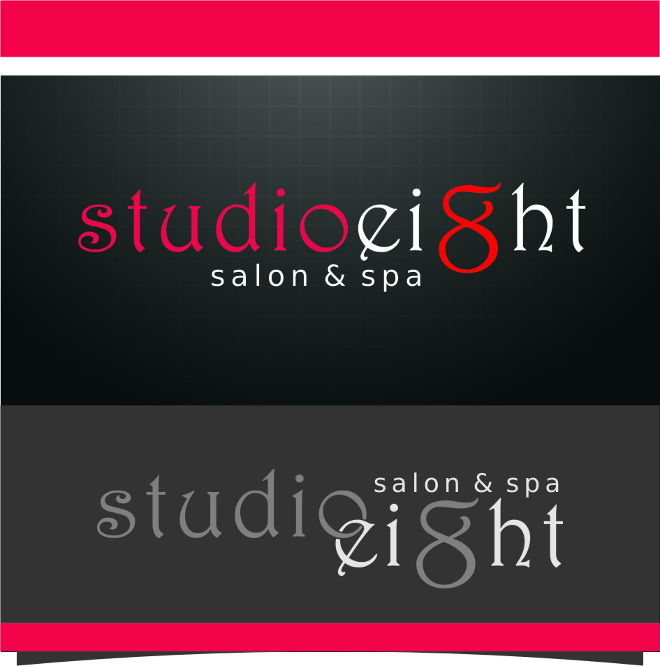 Logo Design by RasYa Muhammad Athaya - Entry No. 123 in the Logo Design Contest Captivating Logo Design for studio eight salon & spa.