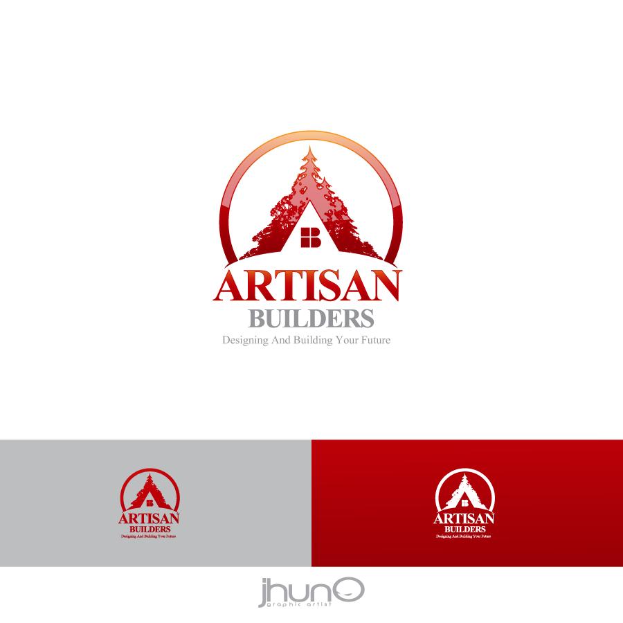 Logo Design by zesthar - Entry No. 54 in the Logo Design Contest Captivating Logo Design for Artisan Builders.