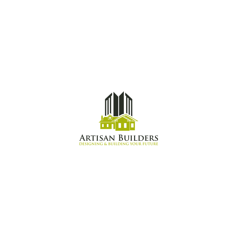 Logo Design by hkdesign - Entry No. 56 in the Logo Design Contest Captivating Logo Design for Artisan Builders.