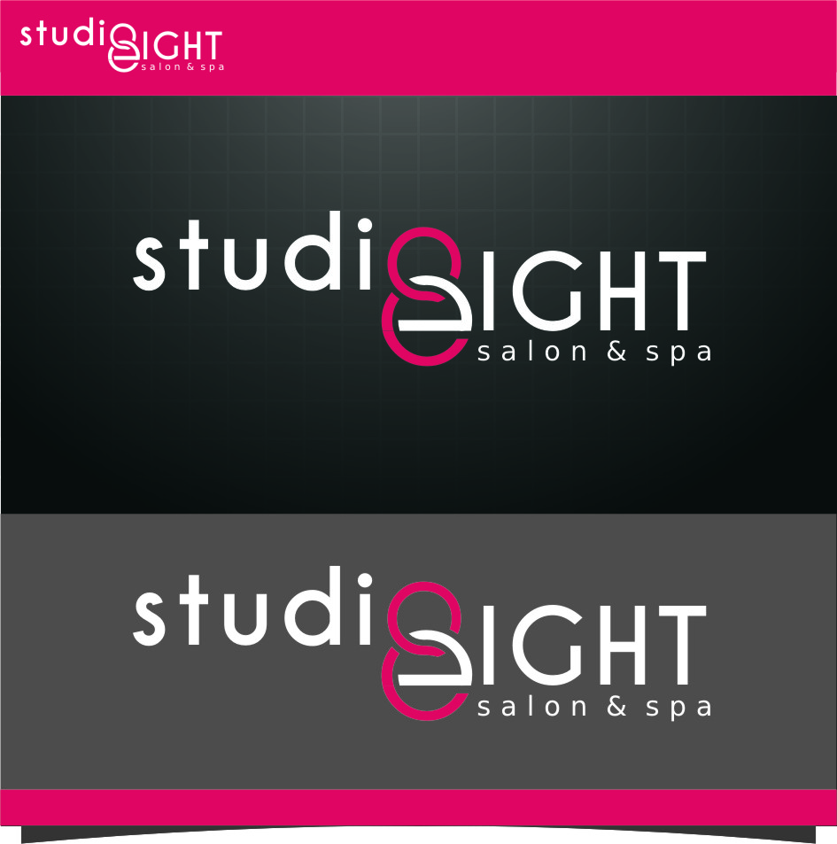 Logo Design by RasYa Muhammad Athaya - Entry No. 126 in the Logo Design Contest Captivating Logo Design for studio eight salon & spa.