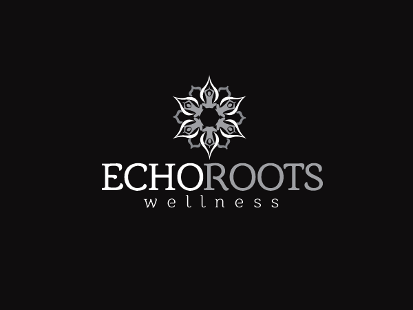 Logo Design by Private User - Entry No. 68 in the Logo Design Contest Funky Logo Design for Echo Roots Wellness.