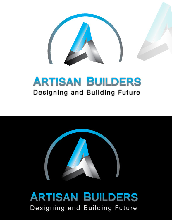 Logo Design by Private User - Entry No. 61 in the Logo Design Contest Captivating Logo Design for Artisan Builders.