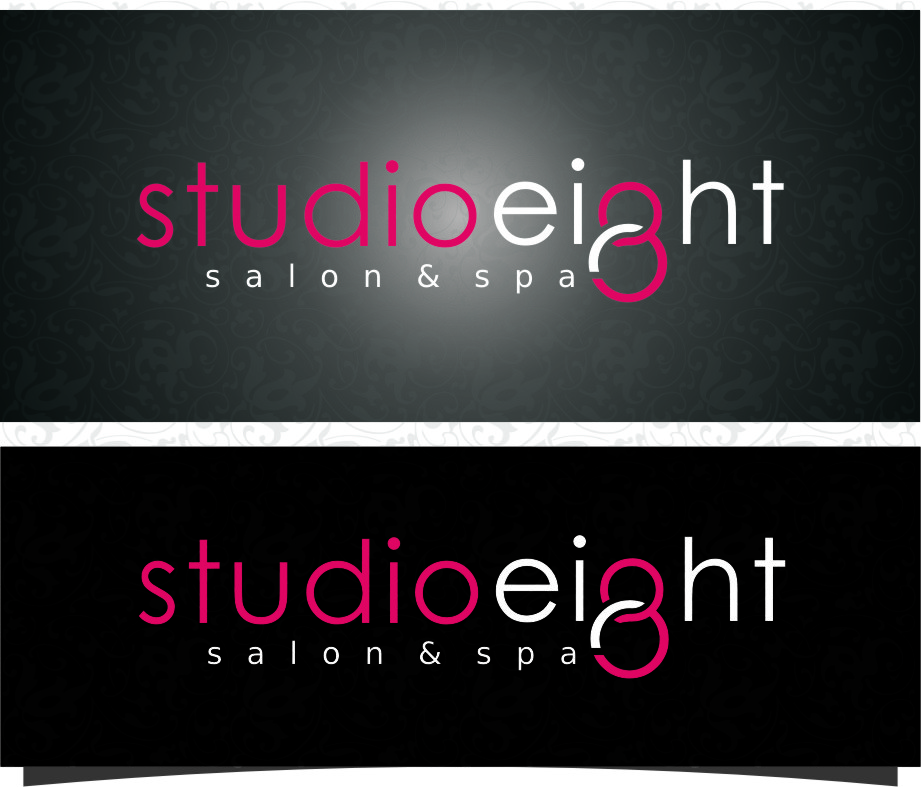 Logo Design by Ngepet_art - Entry No. 131 in the Logo Design Contest Captivating Logo Design for studio eight salon & spa.