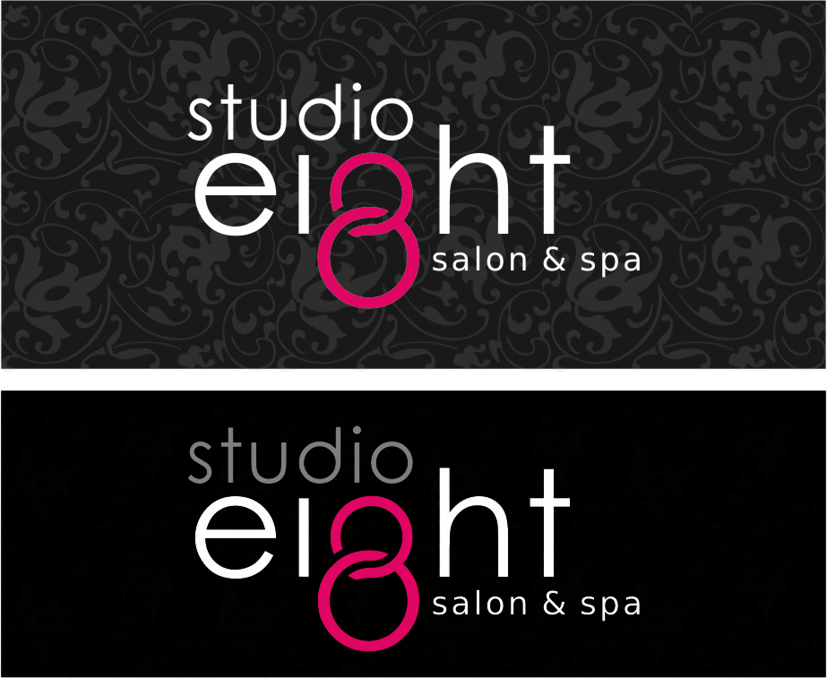 Logo Design by RasYa Muhammad Athaya - Entry No. 132 in the Logo Design Contest Captivating Logo Design for studio eight salon & spa.