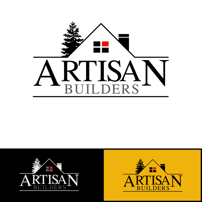 Logo Design by Private User - Entry No. 63 in the Logo Design Contest Captivating Logo Design for Artisan Builders.