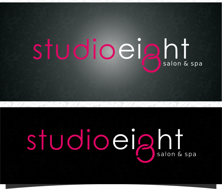 Logo Design by RasYa Muhammad Athaya - Entry No. 137 in the Logo Design Contest Captivating Logo Design for studio eight salon & spa.