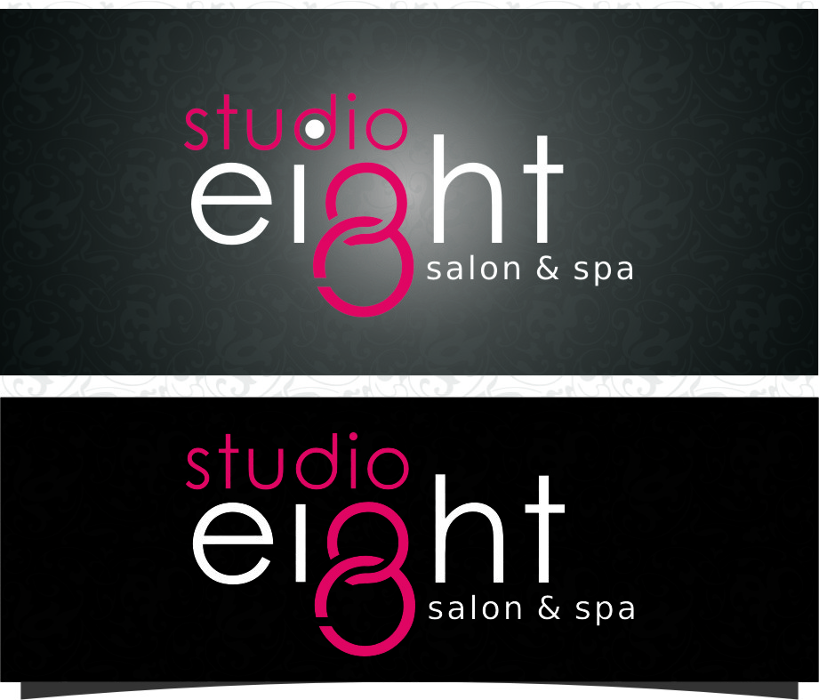 Logo Design by RasYa Muhammad Athaya - Entry No. 138 in the Logo Design Contest Captivating Logo Design for studio eight salon & spa.