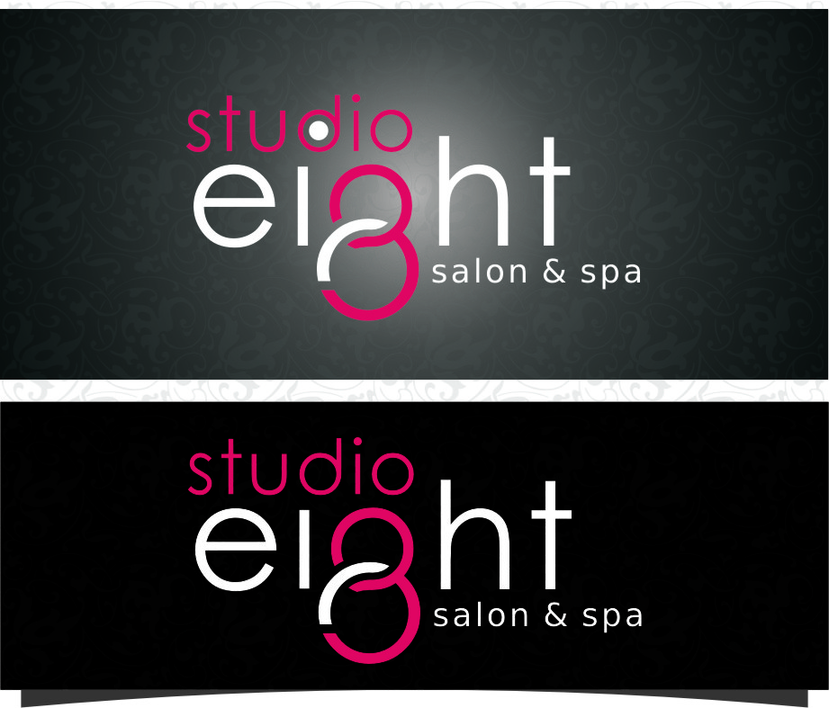 Logo Design by RasYa Muhammad Athaya - Entry No. 139 in the Logo Design Contest Captivating Logo Design for studio eight salon & spa.