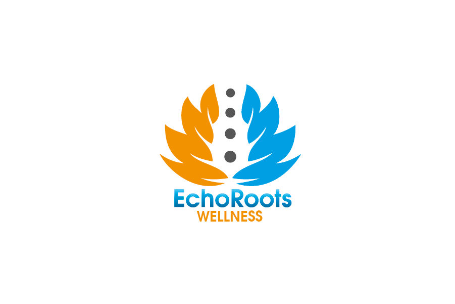 Logo Design by Private User - Entry No. 77 in the Logo Design Contest Funky Logo Design for Echo Roots Wellness.