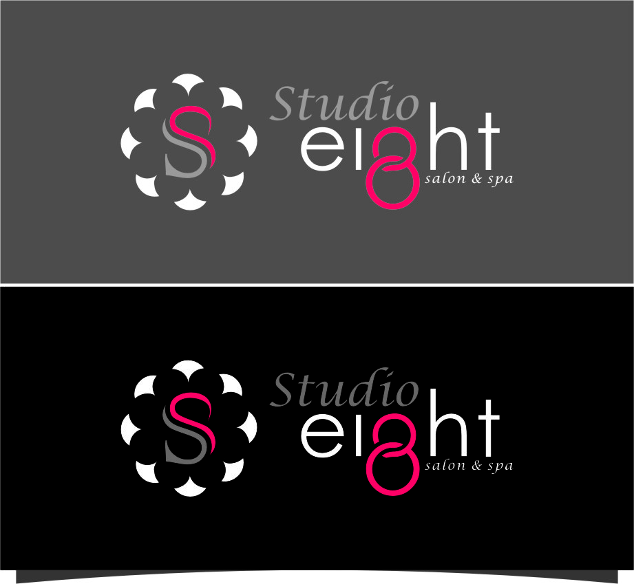 Logo Design by Ngepet_art - Entry No. 141 in the Logo Design Contest Captivating Logo Design for studio eight salon & spa.