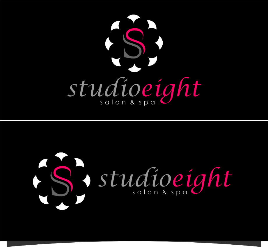 Logo Design by RasYa Muhammad Athaya - Entry No. 142 in the Logo Design Contest Captivating Logo Design for studio eight salon & spa.