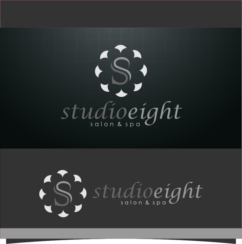 Logo Design by RasYa Muhammad Athaya - Entry No. 143 in the Logo Design Contest Captivating Logo Design for studio eight salon & spa.
