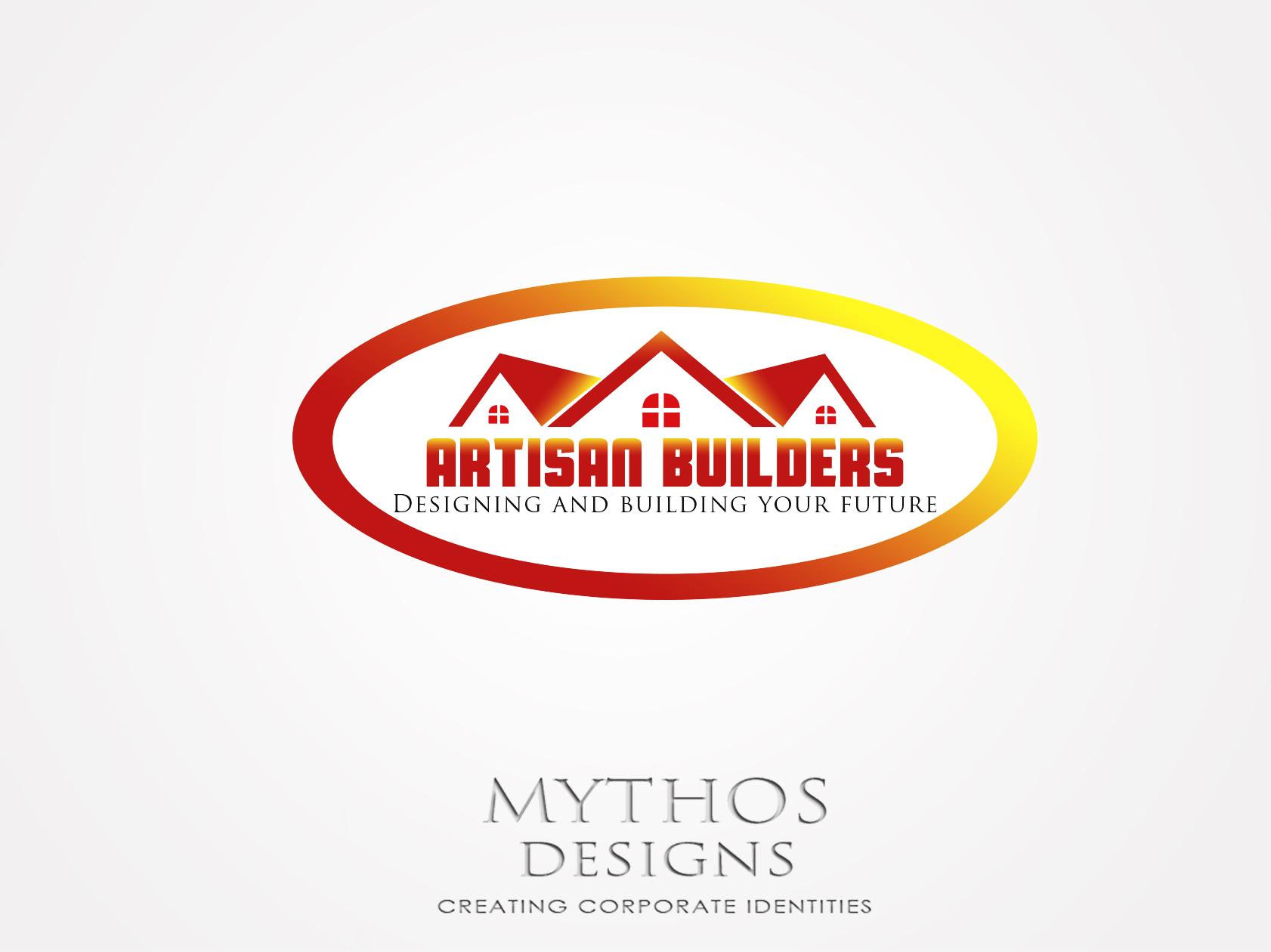 Logo Design by Mythos Designs - Entry No. 65 in the Logo Design Contest Captivating Logo Design for Artisan Builders.