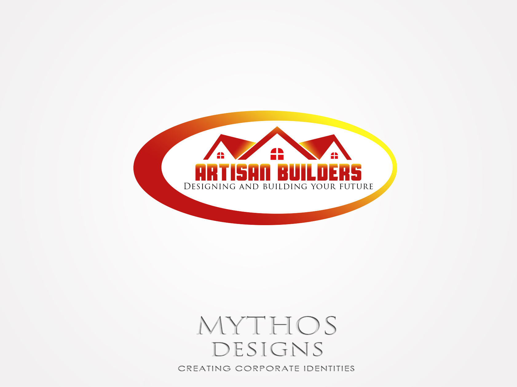 Logo Design by Mythos Designs - Entry No. 66 in the Logo Design Contest Captivating Logo Design for Artisan Builders.