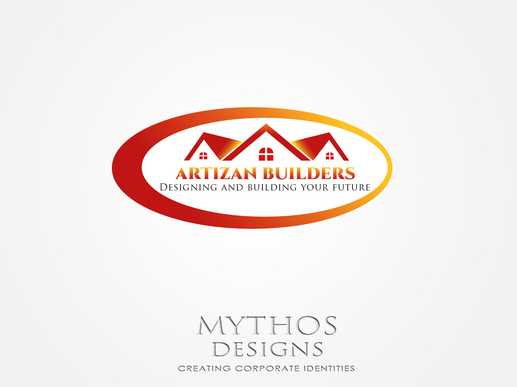 Logo Design by Mythos Designs - Entry No. 67 in the Logo Design Contest Captivating Logo Design for Artisan Builders.
