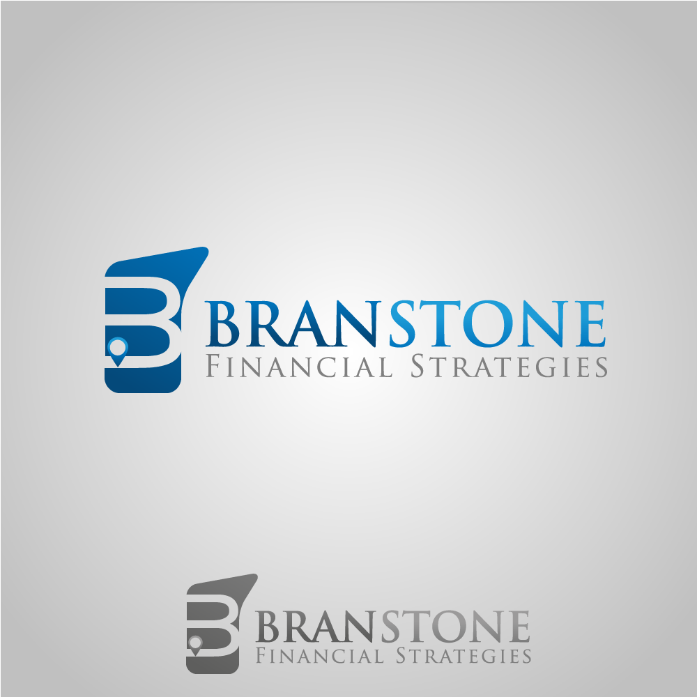 Logo Design by rockin - Entry No. 31 in the Logo Design Contest Inspiring Logo Design for Branstone Financial Strategies.
