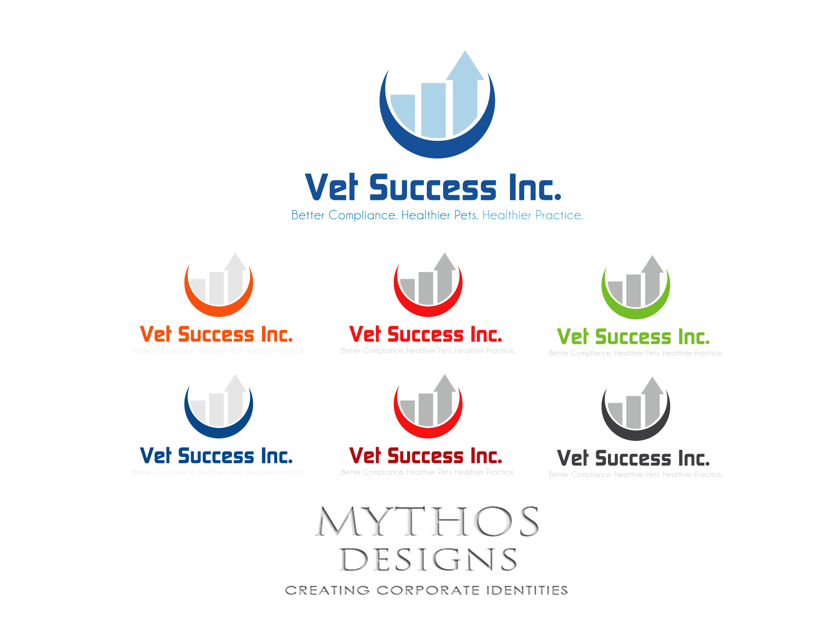 Logo Design by Mythos Designs - Entry No. 107 in the Logo Design Contest Imaginative Logo Design for Vet Success Inc..