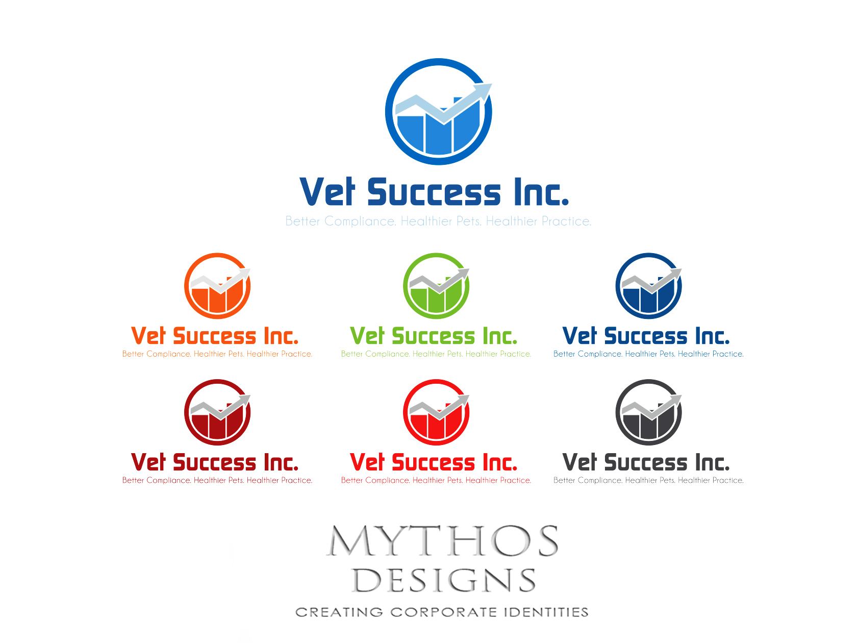 Logo Design by Mythos Designs - Entry No. 108 in the Logo Design Contest Imaginative Logo Design for Vet Success Inc..