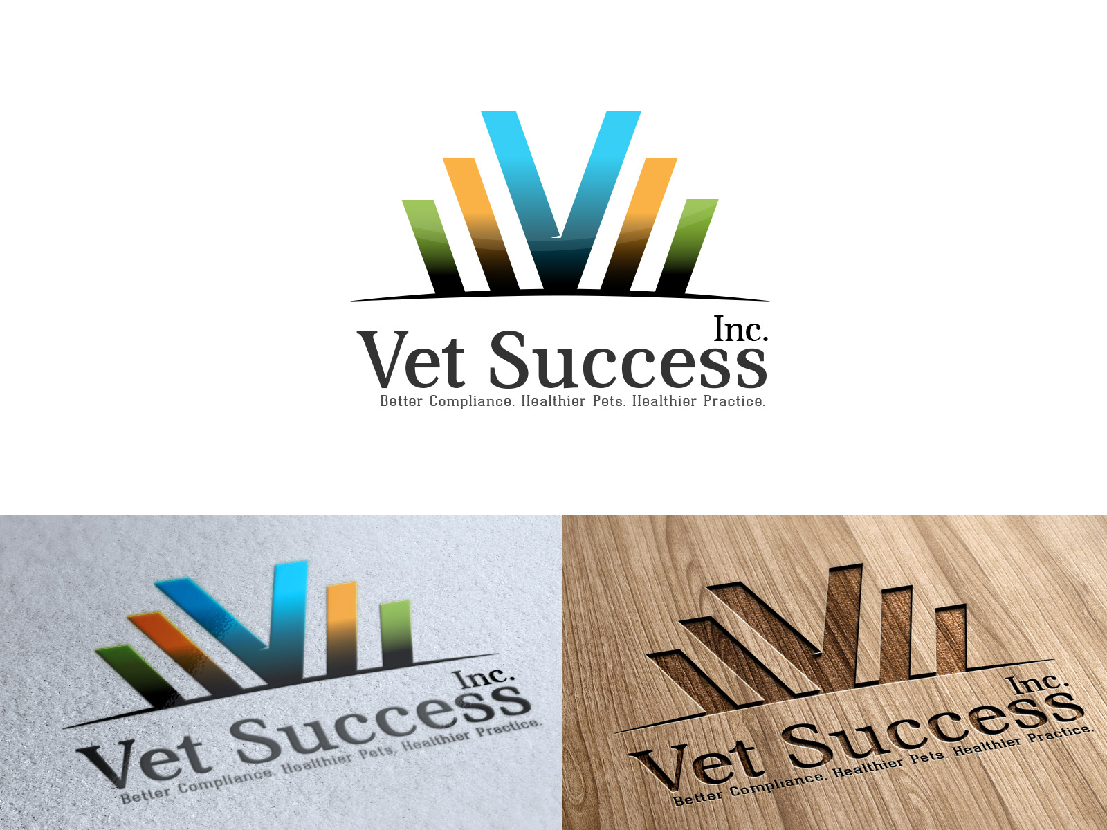 Logo Design by olii - Entry No. 109 in the Logo Design Contest Imaginative Logo Design for Vet Success Inc..