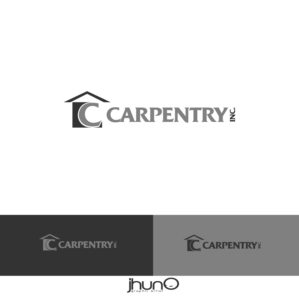 Logo Design by zesthar - Entry No. 6 in the Logo Design Contest Creative Logo Design for Carpentry inc..