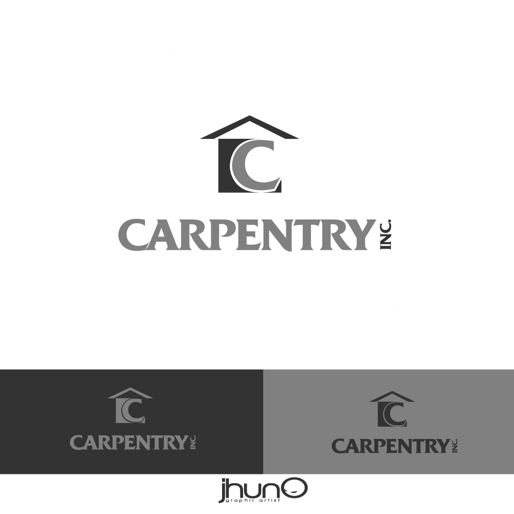 Logo Design by zesthar - Entry No. 7 in the Logo Design Contest Creative Logo Design for Carpentry inc..