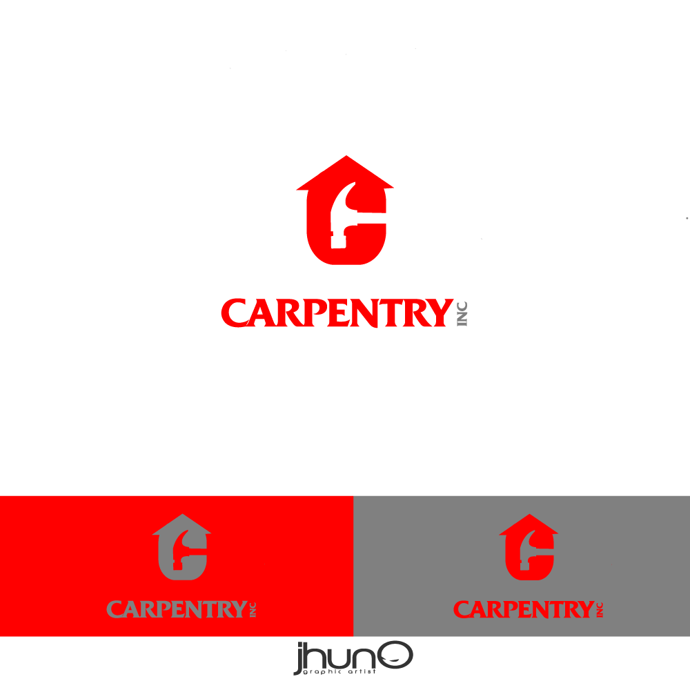 Logo Design by zesthar - Entry No. 8 in the Logo Design Contest Creative Logo Design for Carpentry inc..