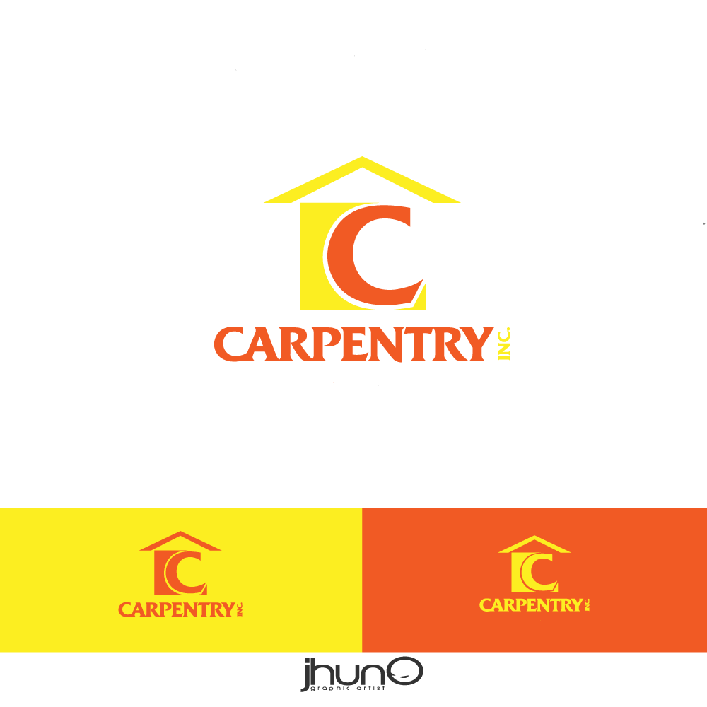 Logo Design by zesthar - Entry No. 9 in the Logo Design Contest Creative Logo Design for Carpentry inc..