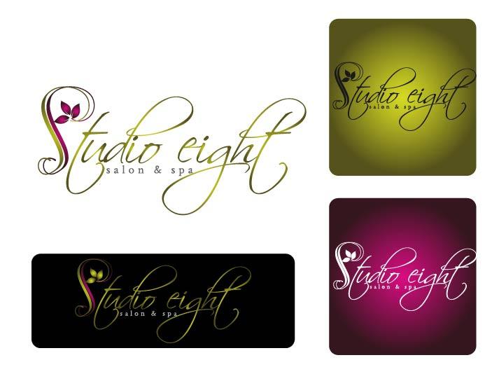 Logo Design by Darina Dimitrova - Entry No. 151 in the Logo Design Contest Captivating Logo Design for studio eight salon & spa.