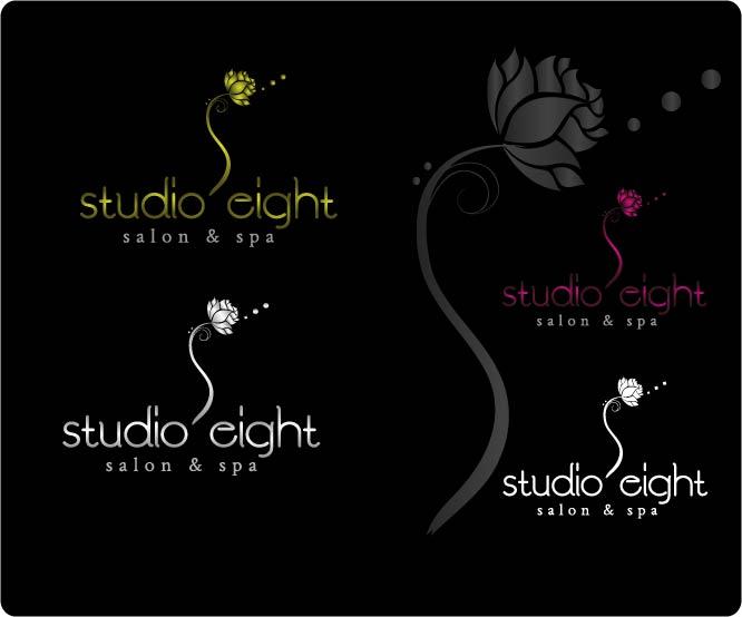 Logo Design by Darina Dimitrova - Entry No. 152 in the Logo Design Contest Captivating Logo Design for studio eight salon & spa.