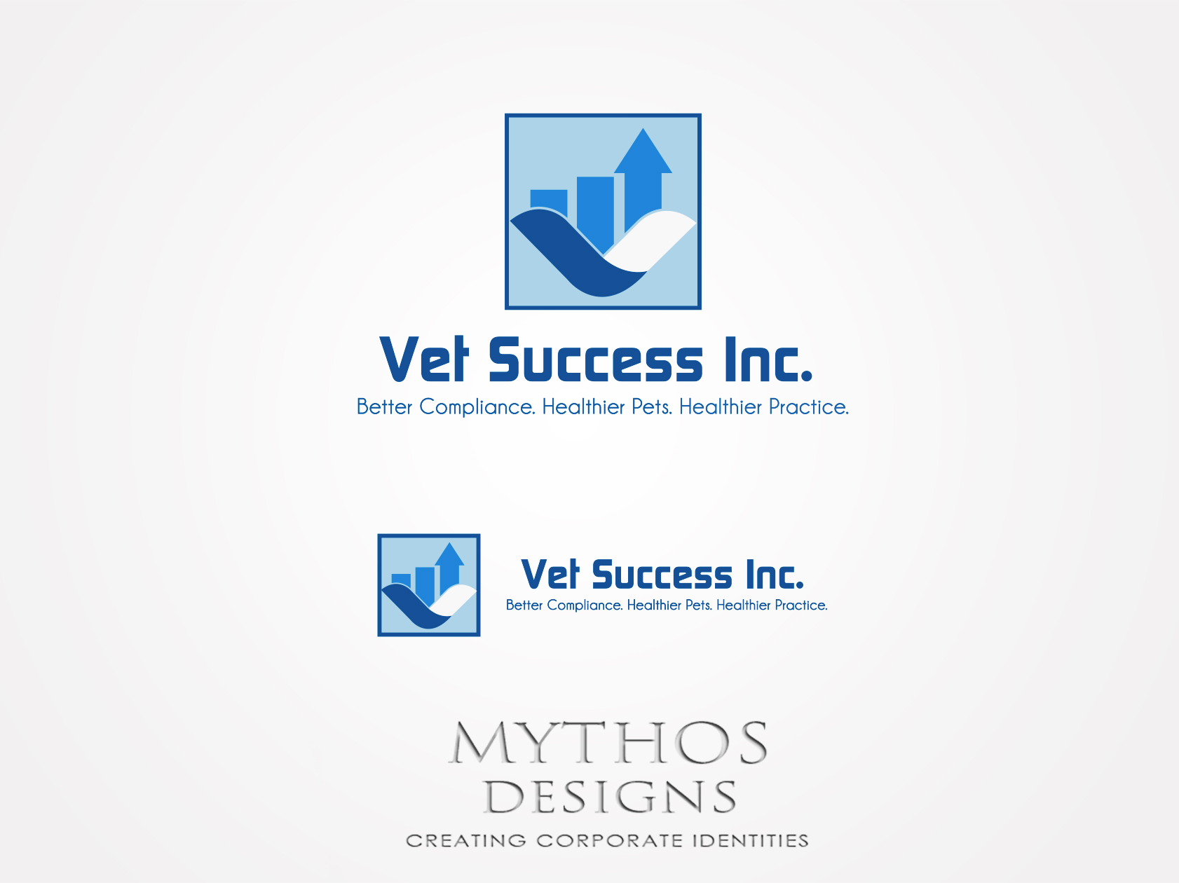 Logo Design by Mythos Designs - Entry No. 112 in the Logo Design Contest Imaginative Logo Design for Vet Success Inc..