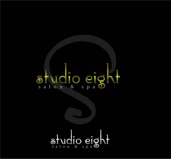 Logo Design by Darina Dimitrova - Entry No. 154 in the Logo Design Contest Captivating Logo Design for studio eight salon & spa.