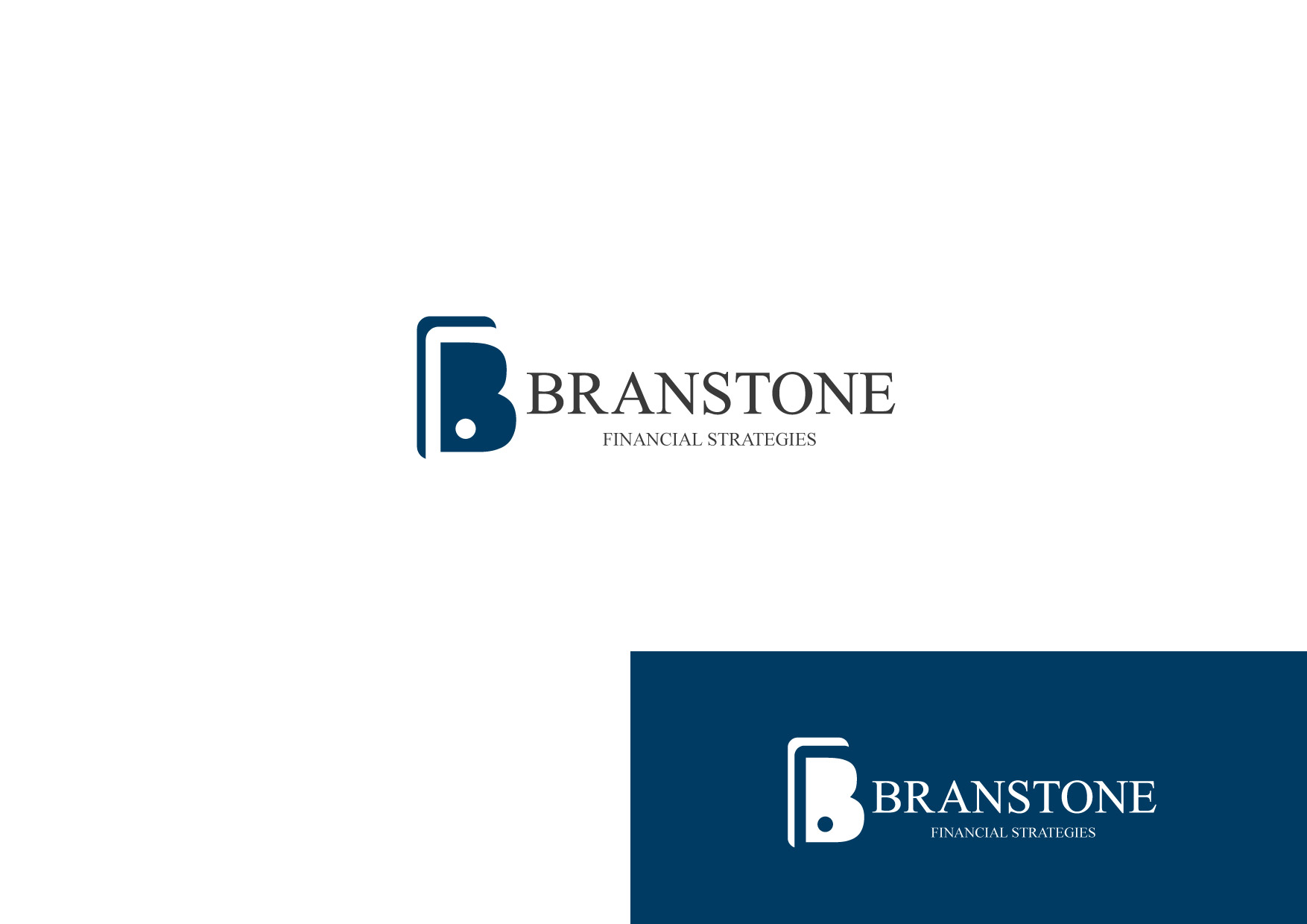 Logo Design by Osi Indra - Entry No. 36 in the Logo Design Contest Inspiring Logo Design for Branstone Financial Strategies.