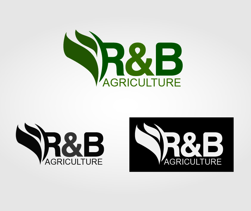 Logo Design by Iskander Dino - Entry No. 131 in the Logo Design Contest Captivating Logo Design for R & B Agriculture.