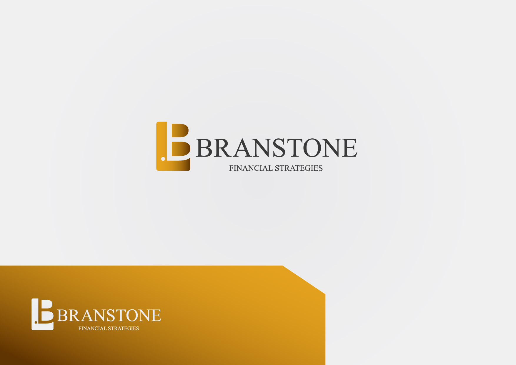 Logo Design by Osi Indra - Entry No. 37 in the Logo Design Contest Inspiring Logo Design for Branstone Financial Strategies.