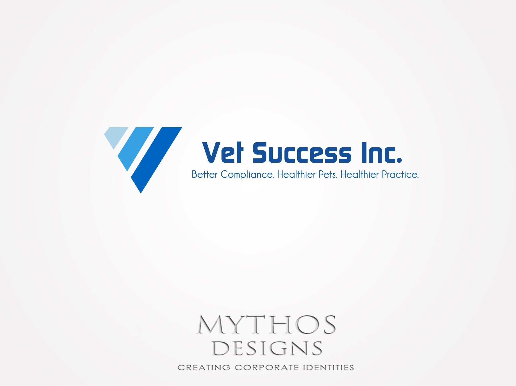 Logo Design by Mythos Designs - Entry No. 124 in the Logo Design Contest Imaginative Logo Design for Vet Success Inc..