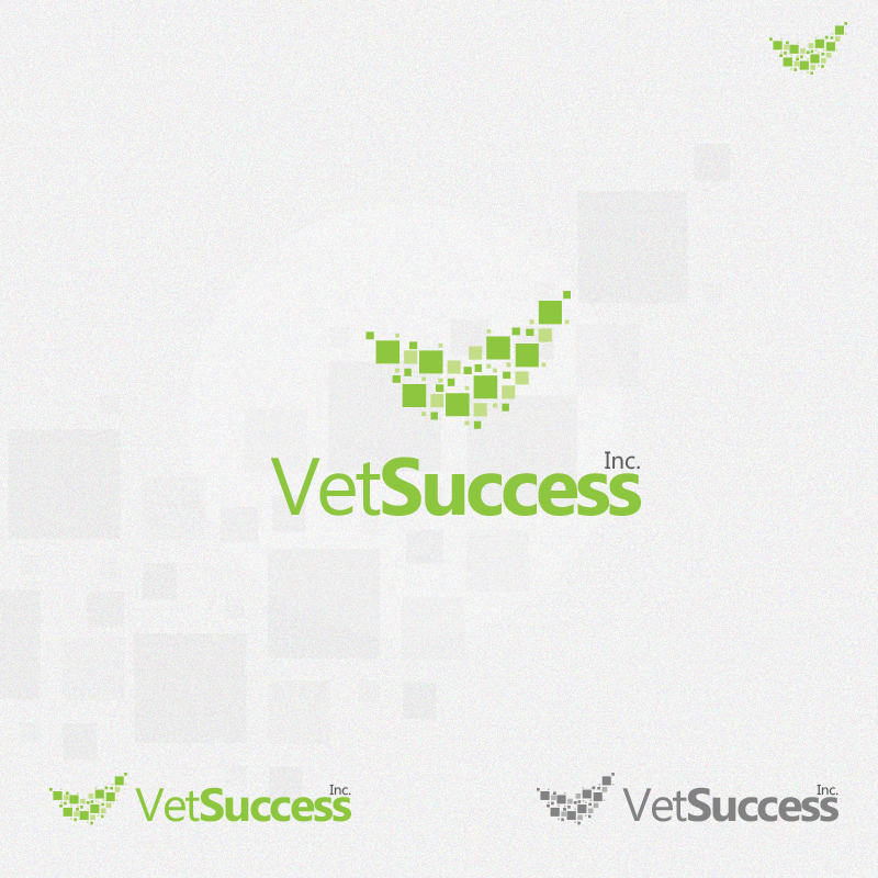 Logo Design by rockpinoy - Entry No. 127 in the Logo Design Contest Imaginative Logo Design for Vet Success Inc..