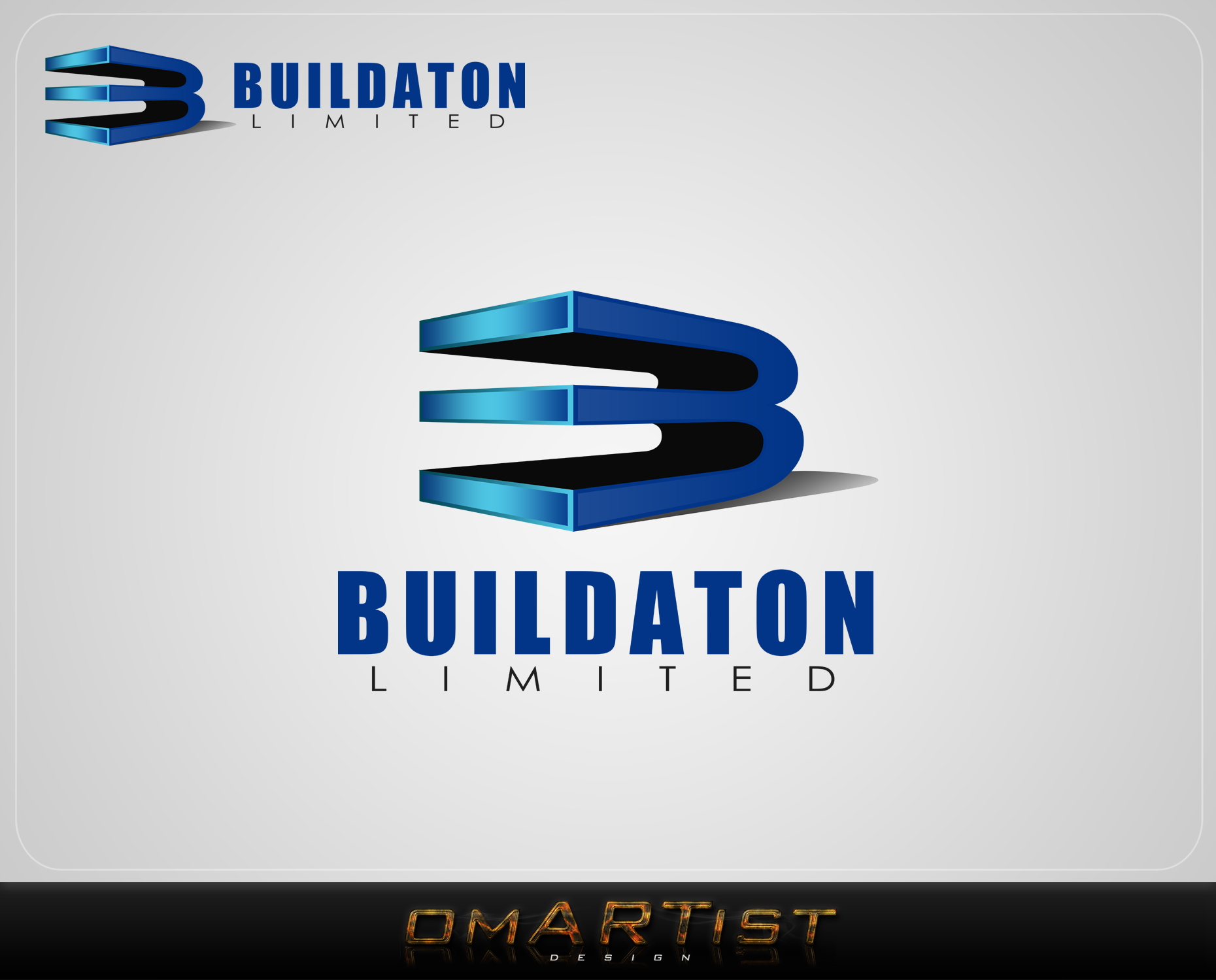 Logo Design by omARTist - Entry No. 62 in the Logo Design Contest Artistic Logo Design for Buildaton Limited.