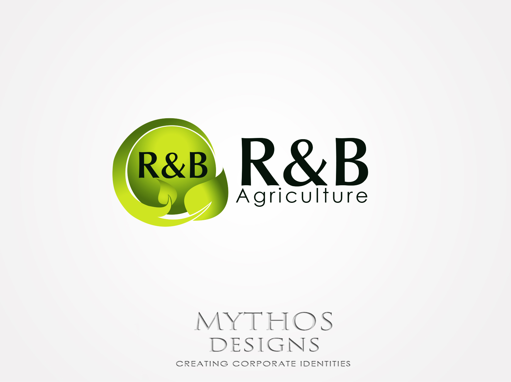 Logo Design by Mythos Designs - Entry No. 136 in the Logo Design Contest Captivating Logo Design for R & B Agriculture.