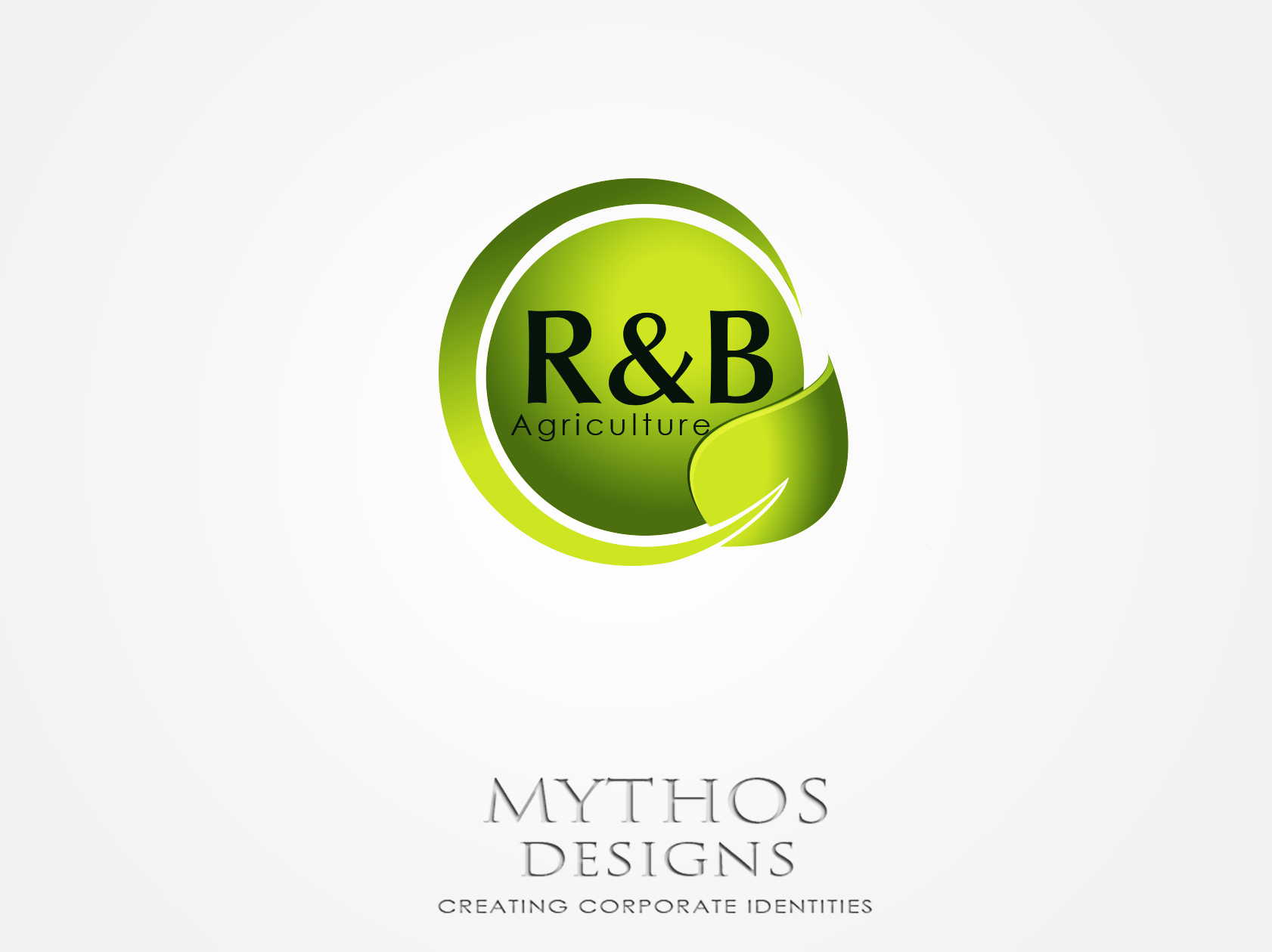 Logo Design by Mythos Designs - Entry No. 137 in the Logo Design Contest Captivating Logo Design for R & B Agriculture.