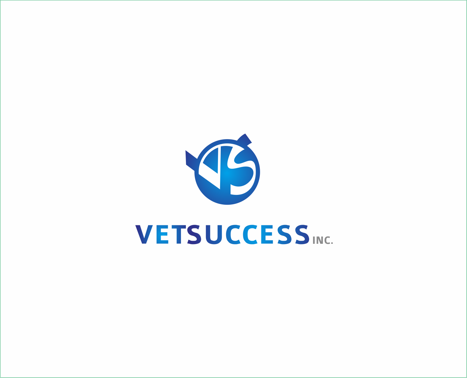 Logo Design by Armada Jamaluddin - Entry No. 135 in the Logo Design Contest Imaginative Logo Design for Vet Success Inc..