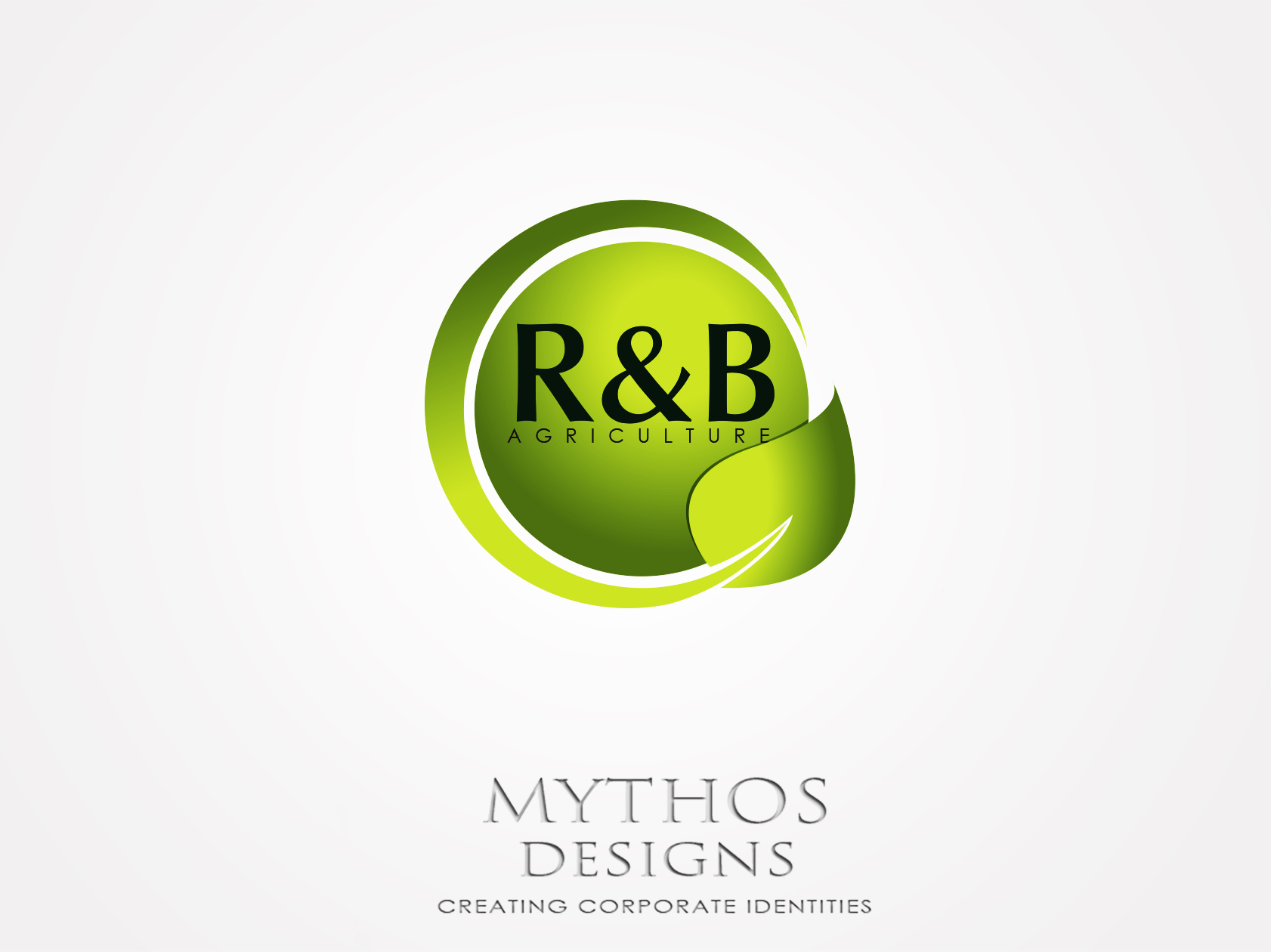 Logo Design by Mythos Designs - Entry No. 138 in the Logo Design Contest Captivating Logo Design for R & B Agriculture.
