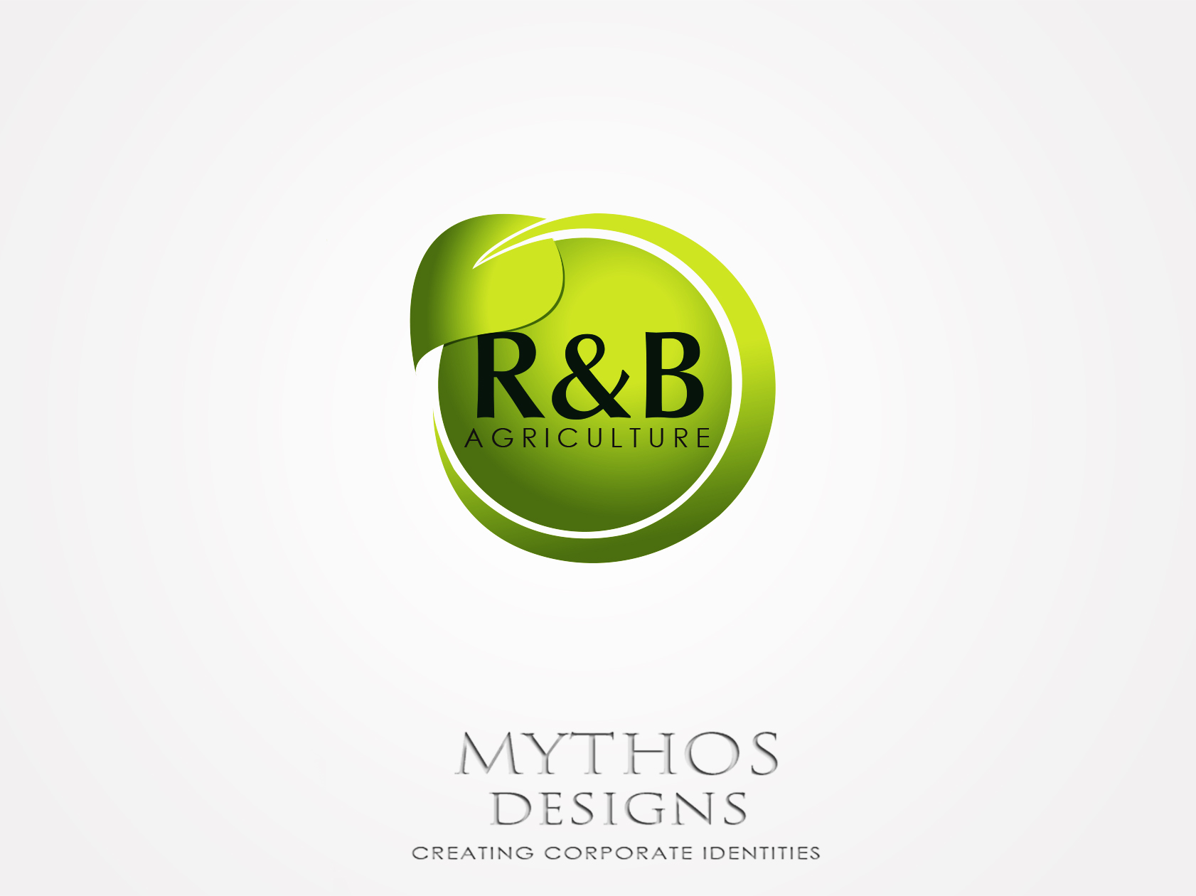 Logo Design by Mythos Designs - Entry No. 139 in the Logo Design Contest Captivating Logo Design for R & B Agriculture.