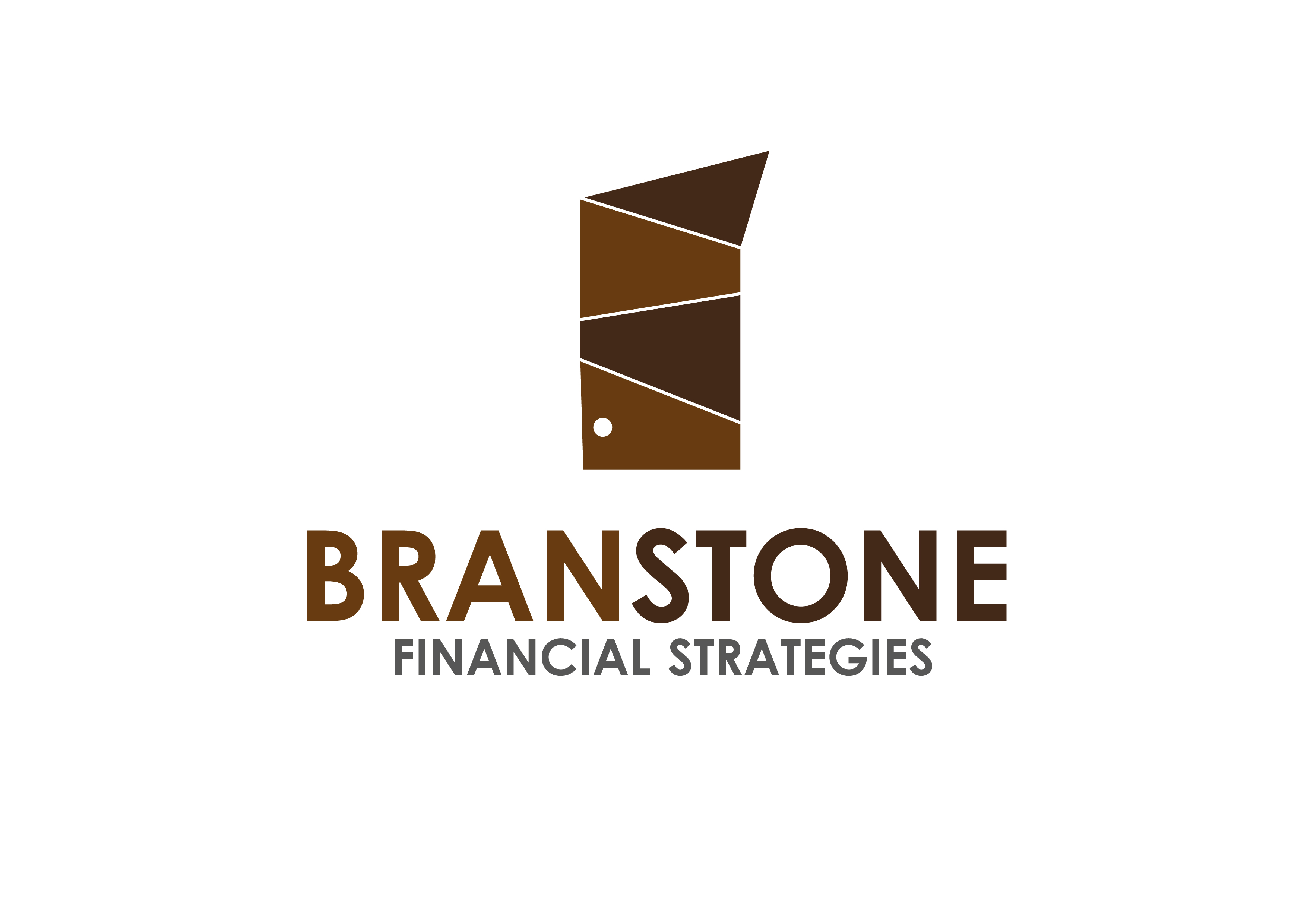 Logo Design by 3draw - Entry No. 39 in the Logo Design Contest Inspiring Logo Design for Branstone Financial Strategies.