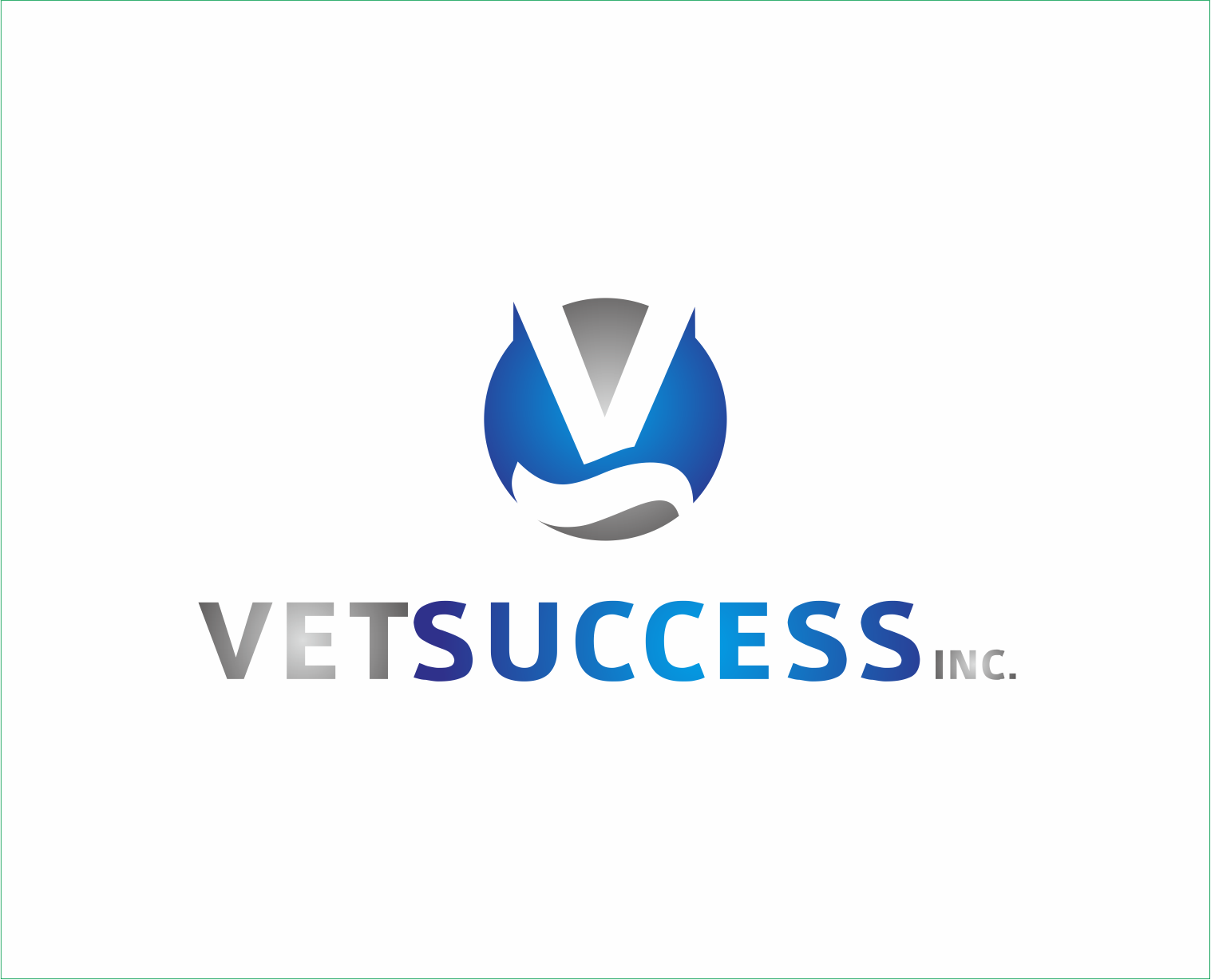 Logo Design by Armada Jamaluddin - Entry No. 136 in the Logo Design Contest Imaginative Logo Design for Vet Success Inc..