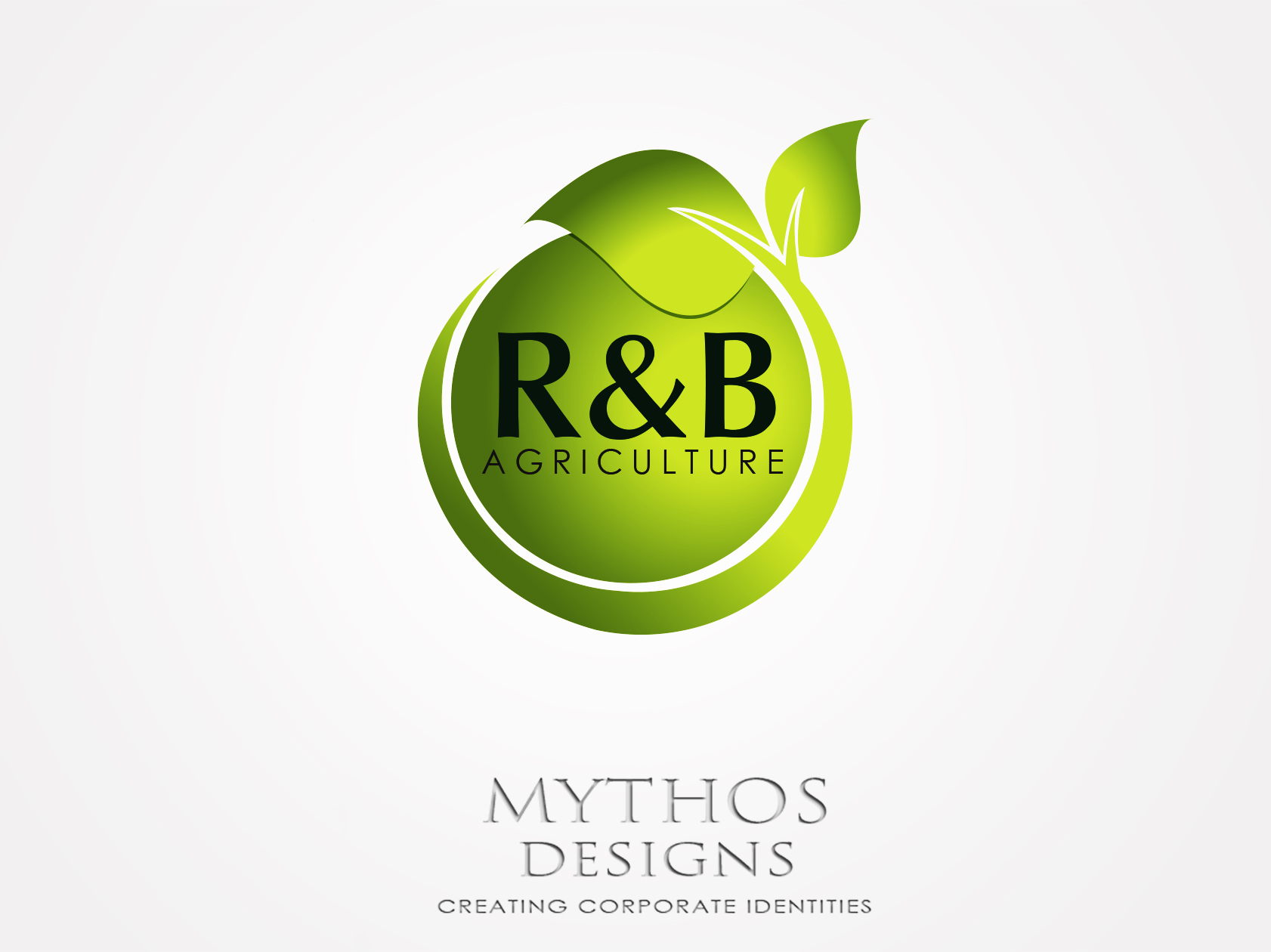 Logo Design by Mythos Designs - Entry No. 140 in the Logo Design Contest Captivating Logo Design for R & B Agriculture.
