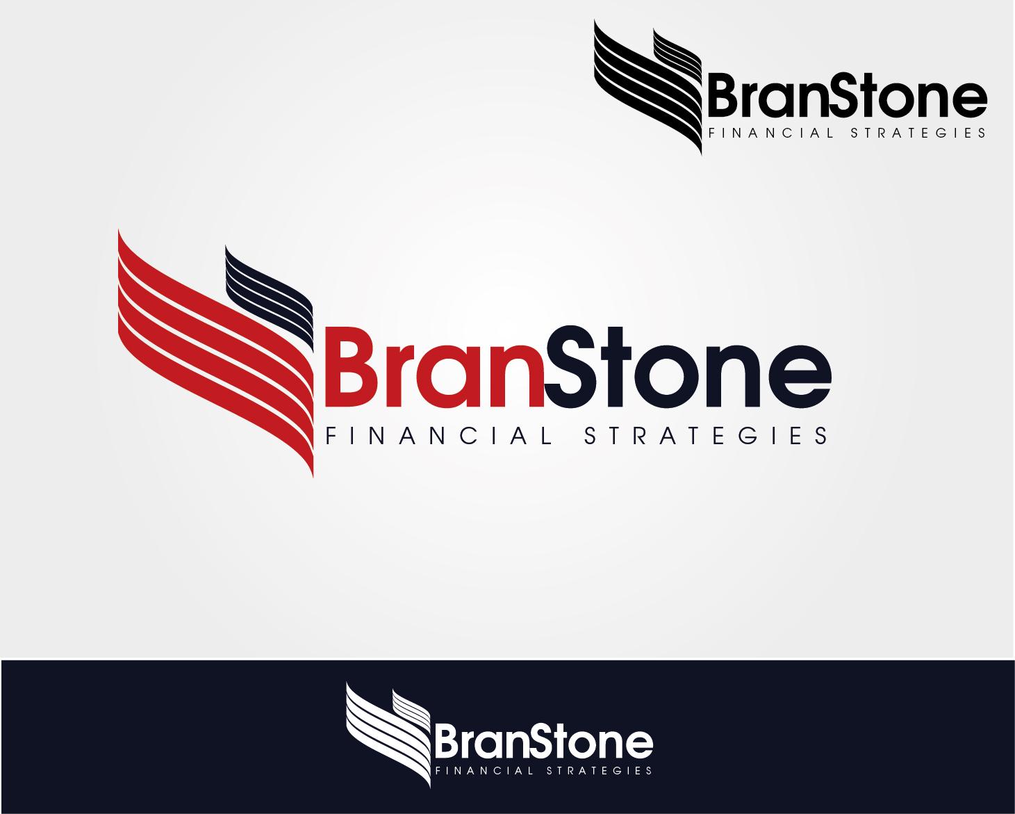Logo Design by VENTSISLAV KOVACHEV - Entry No. 49 in the Logo Design Contest Inspiring Logo Design for Branstone Financial Strategies.