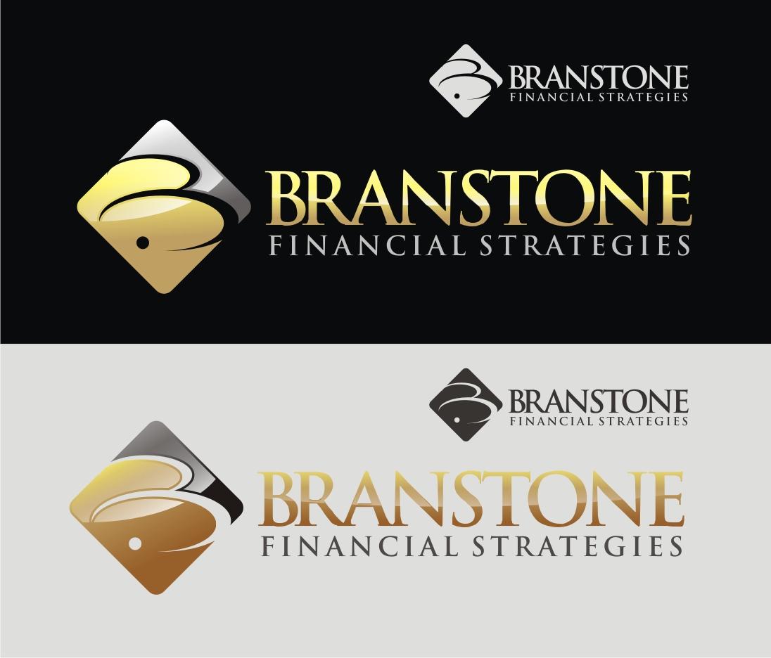 Logo Design by Reivan Ferdinan - Entry No. 51 in the Logo Design Contest Inspiring Logo Design for Branstone Financial Strategies.