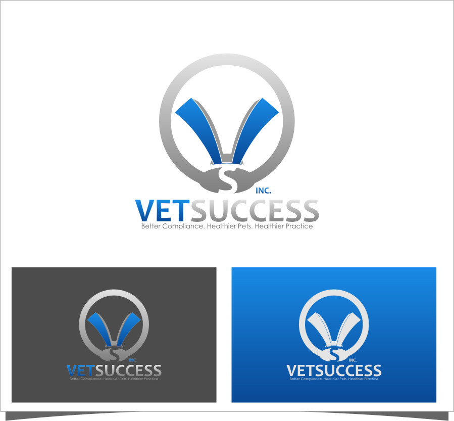 Logo Design by Ngepet_art - Entry No. 152 in the Logo Design Contest Imaginative Logo Design for Vet Success Inc..