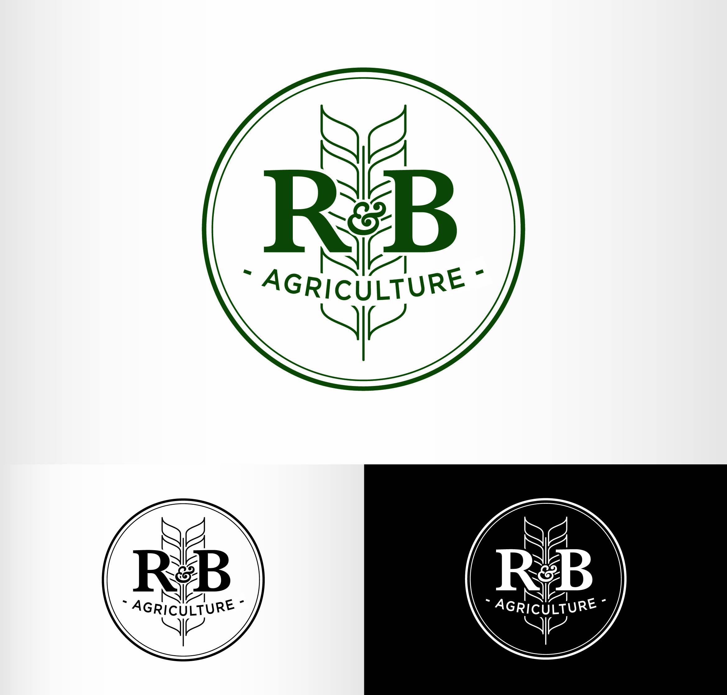 Logo Design by Andrés González - Entry No. 143 in the Logo Design Contest Captivating Logo Design for R & B Agriculture.
